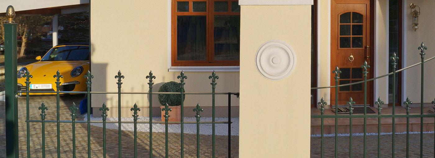 deutschland discounter f r z une schmiedez une gartenz une metallzaun ab 49 m2 berlin. Black Bedroom Furniture Sets. Home Design Ideas